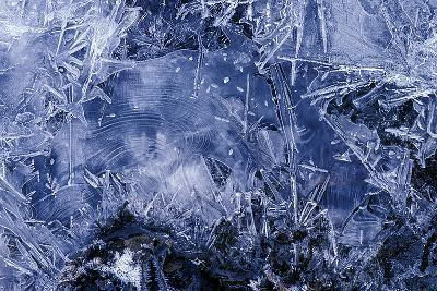 Ice Crystals-Dr. Keith Wheeler-Photographic Print