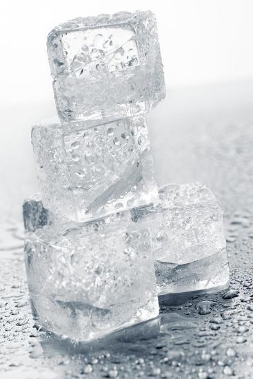 Ice Cubes in a Pile-Kr?ger and Gross-Photographic Print