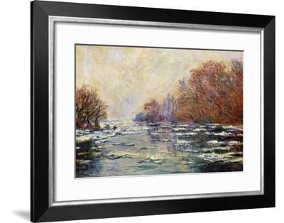 Ice Floes Near Vetheuil (Le Debacle Pres De Vetheuil), 1880-Claude Monet-Framed Giclee Print