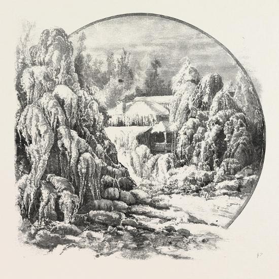 Ice Grove, Canada, Nineteenth Century--Giclee Print