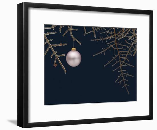 Ice on Branches-Eric Gottschalk-Framed Photographic Print