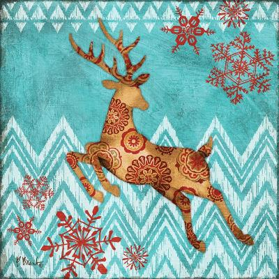 Ice Reindeer Dance II-Paul Brent-Art Print
