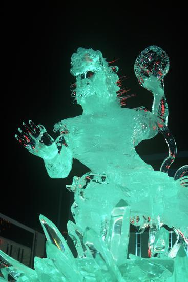 Ice Sculpture, Sapporo, Japan--Photographic Print
