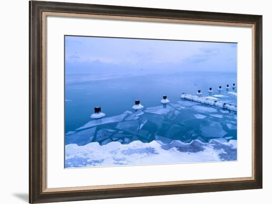 Ice Shelf-NjR Photos-Framed Giclee Print