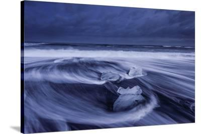 Ice Skull-Luigi Ruoppolo-Stretched Canvas Print