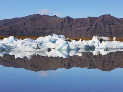 Ice washed ashore glacier at Joekulsarlon-Frank Krahmer-Photographic Print