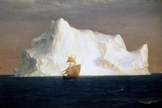 Iceberg, 1891-Frederick Edwin Church-Giclee Print