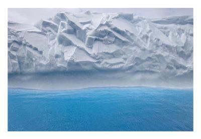 Iceberg Abstract-Donald Paulson-Giclee Print