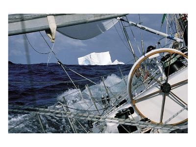 Iceberg Ahead--Art Print