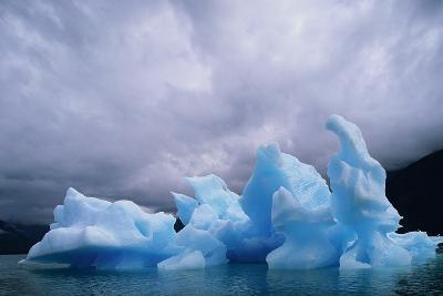 Iceberg Along Alaskan Wilderness--Photographic Print