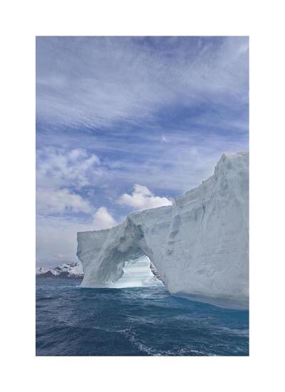 Iceberg Arch-Donald Paulson-Giclee Print