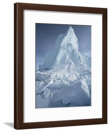 Iceberg, Arctic-Flip Nicklin/Minden Pictures-Framed Photographic Print