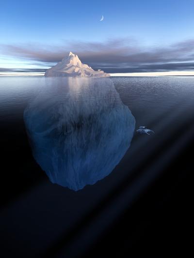Iceberg, Artwork-Detlev Van Ravenswaay-Photographic Print