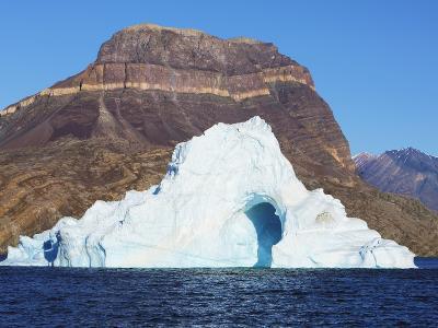 Iceberg at Ymer Island in Greenland-Frank Krahmer-Photographic Print