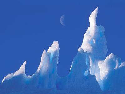 Iceberg, Australian Antarctic Territory, Antarctica-Pete Oxford-Photographic Print