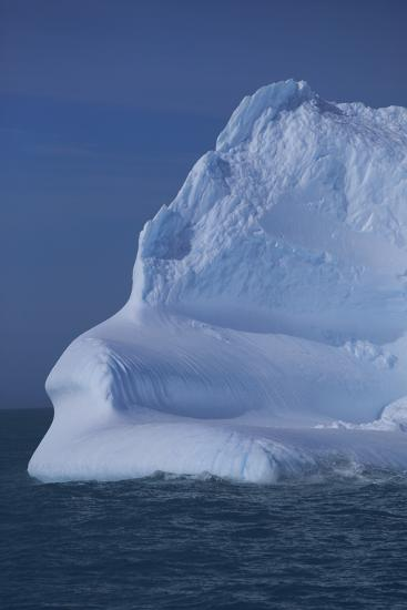 Iceberg Floating in Ocean-DLILLC-Photographic Print