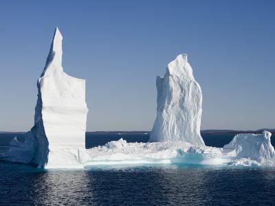 Iceberg from Ilulissat Kangerlua Icefjord-Holger Leue-Photographic Print