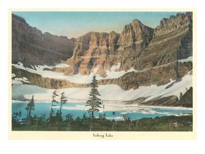 Iceberg Lake, Glacier Park, Montana