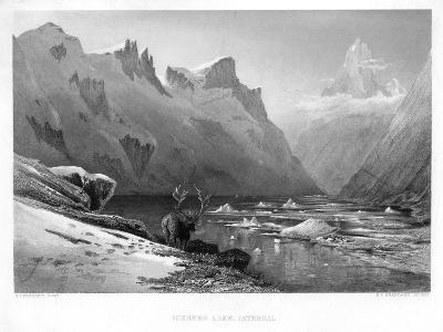 Iceberg Lake, Isterdal, Norway, Mid-Late 19th Century-Edward Paxman Brandard-Giclee Print