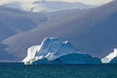 Iceberg near the Coastline-DLILLC-Photographic Print