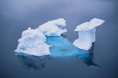 Iceberg Seen above and below Water-DLILLC-Photographic Print