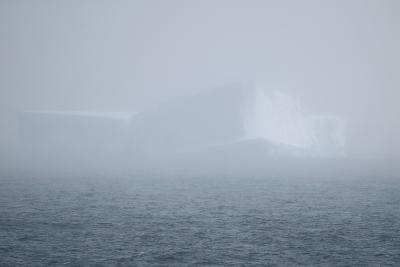 Iceberg Seen through Fog-DLILLC-Photographic Print