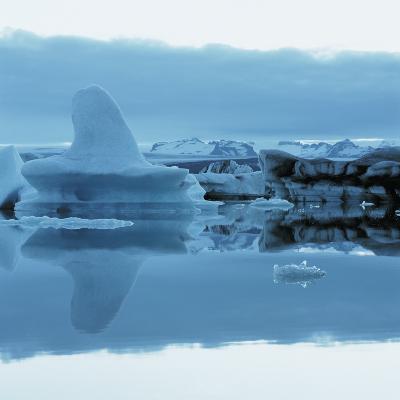 Iceberg Shaped Like a Whale Fin--Photographic Print