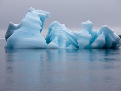Iceberg, Svalbard, Norway-Paul Souders-Photographic Print
