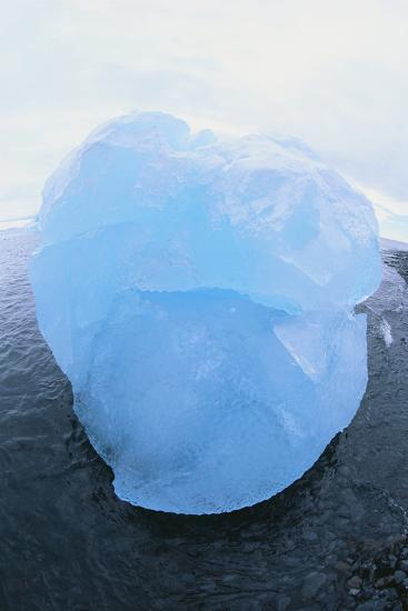 Iceberg Washed Ashore-DLILLC-Photographic Print
