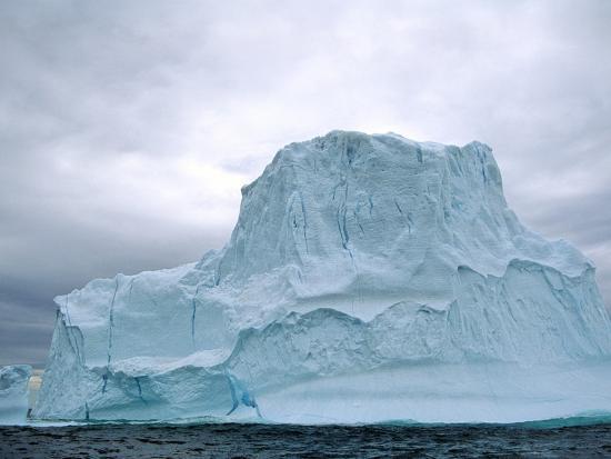 Iceberg, Witless Bay Ecological Reserve, Newfoundland, Canada-Barrett & Mackay-Photographic Print