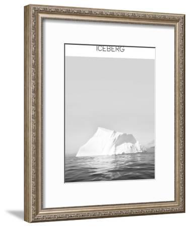 Iceberg--Framed Art Print