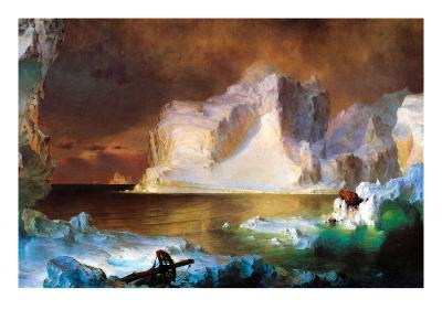 Iceberg-Frederic Edwin Church-Art Print