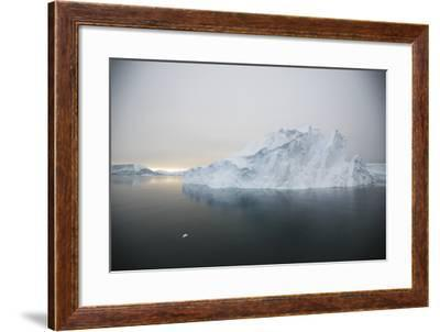 Iceberg-DLILLC-Framed Photographic Print