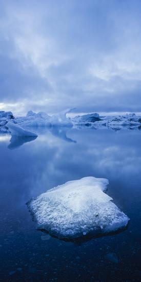 Icebergs 1 Vertical-Moises Levy-Photographic Print