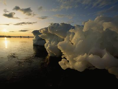 Icebergs Floating in the Arctic-Norbert Rosing-Photographic Print