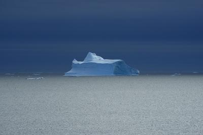 Icebergs Floating on Water Off the Coast of Greenland-Raul Touzon-Photographic Print