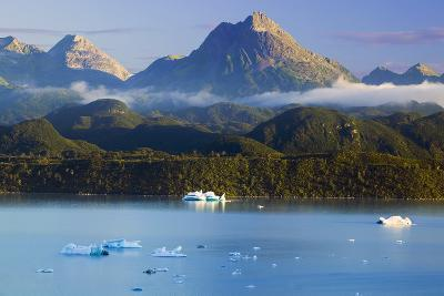 Icebergs Floating-Design Pics Inc-Photographic Print
