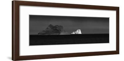 Icebergs from Greenland, Drifting in Iceberg Alley in Baffin Bay-Kike Calvo-Framed Photographic Print