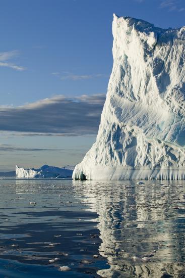 Icebergs in Disko Bay--Photographic Print