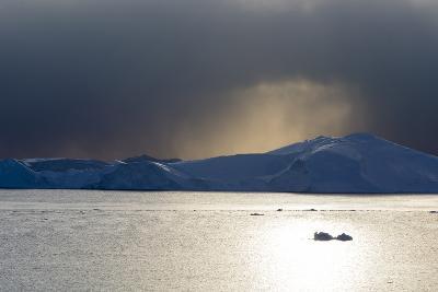 Icebergs in Ilulissat Icefjord, an UNESCO World Heritage Site-Sergio Pitamitz-Photographic Print