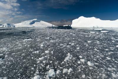 Icebergs in Ilulissat Icefjord, Greenland, Denmark, Polar Regions-Sergio Pitamitz-Photographic Print