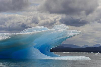 Icebergs in Laguna San Rafael, Laguna San Rafael NP, Aysen, Chile-Fredrik Norrsell-Photographic Print