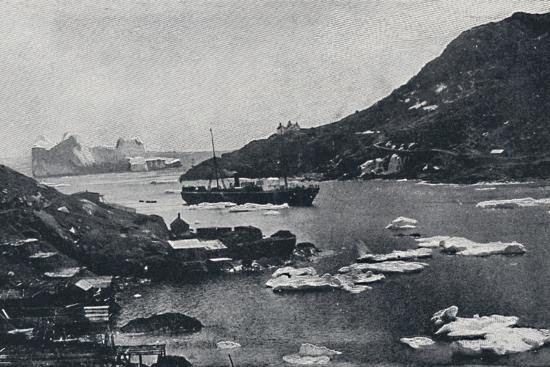 'Icebergs in St. John's Harbour', 1924-Unknown-Photographic Print