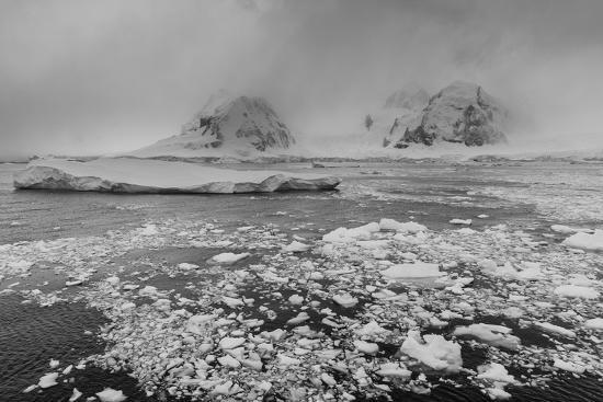 Icebergs in the Herrera Channel, Antarctica, Polar Regions-Sergio Pitamitz-Photographic Print