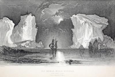 Icebergs Near Kosoak, Life Boat Cove-Elisha Kane-Giclee Print