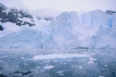 Icebergs Reflected in the Sea-DLILLC-Photographic Print
