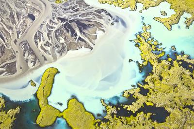 Iceland Aerial View-Werner Van Steen-Photographic Print