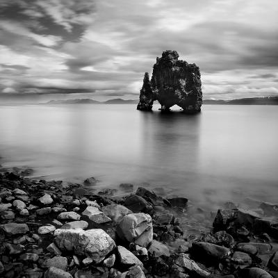 Iceland Dinosaur-Nina Papiorek-Photographic Print