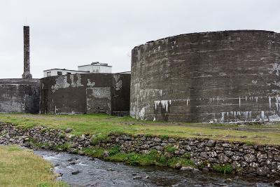 Iceland, Djupavik, Former Fish Factory-Catharina Lux-Photographic Print