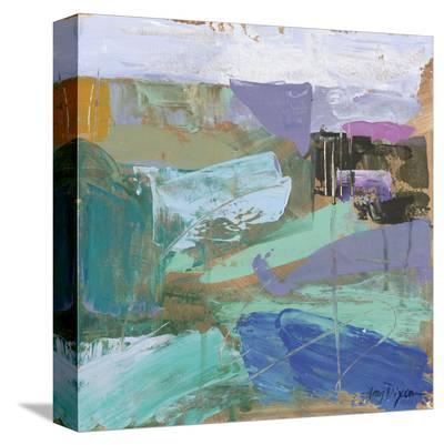 Iceland Interpreted-Amy Dixon-Stretched Canvas Print